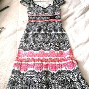 Floral Karen Miller dress